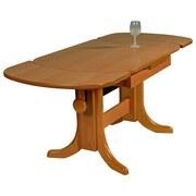 Ausziehbarer Couchtisch Holz + Höhenverstellbar Scala, Buche - Buchefarben, Design, Holz (90-135/60/56-72cm) - MID.YOU