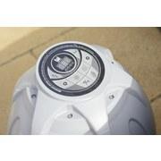Whirlpool Aufblasbar Lay-Z-Spa Miami Ø 180 X H 66 cm - Schwarz/Weiß, KONVENTIONELL, Kunststoff (180/66cm) - Bestway