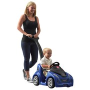 Kinderauto Push Around Buggy Gt Blau - Blau/Schwarz, MODERN, Kunststoff (103,5/92,7/44,1cm)