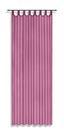 Készfüggöny Utila - Fáradt rózsaszín, konvencionális, Textil (140/245cm) - Luca Bessoni