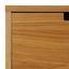 Tv Diel Maris - farby dubu/biela, Moderný, drevo (140/48/40cm) - Modern Living