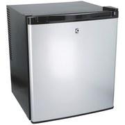 Minikühlschrank Cuisinier Deluxe - Schwarz/Alufarben, MODERN, Metall (41/43/51cm)