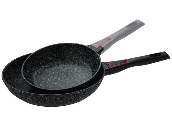 Sada Panvíc Pirate - čierna, Moderný, kov/plast (22 + 28cm) - Premium Living