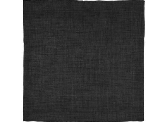 Poťah Na Vankúš Leinenoptik - tmavosivá, Konvenčný, textil (60/60cm) - Mömax modern living