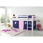 Betttasche Lila/rosa - Lila/Rosa, Design, Textil (50/28/2cm)