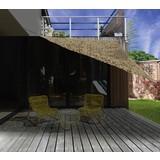 Gartensonnensegel Dreieck 3,6x3,6m - Sandfarben, MODERN, Kunststoff (360/360cm)