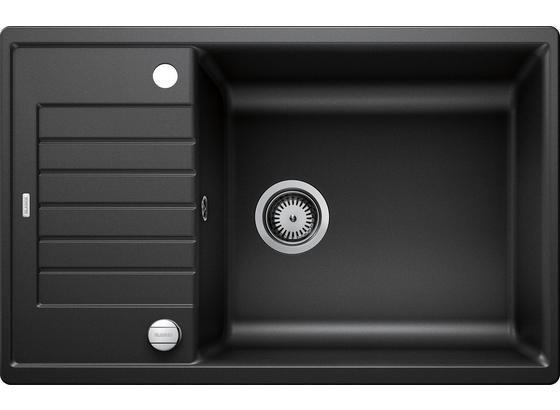 Spüle Blanco Zia XL 6 S Compact - Anthrazit, KONVENTIONELL, Stein (78/19/50cm) - Blanco