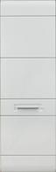 Wohnkombination Avensis 7 - Eichefarben/Schwarz, MODERN, Glas/Holzwerkstoff (305/206/50cm) - Luca Bessoni