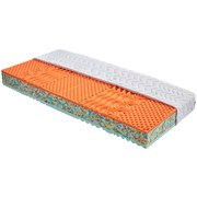 Partnerská Matrace Bamboo - bílá, textil (200/90/18cm) - Primatex