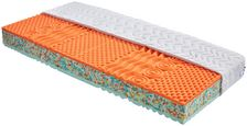 Partnerský Matrac Bamboo 90/200cm H3/ H4 - biela, textil (200/90/18cm) - Primatex