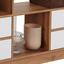 Regal mit Laden und Fächern Meggy B: 140cm - Eichefarben/Weiß, MODERN, Holz (140/184/32cm)