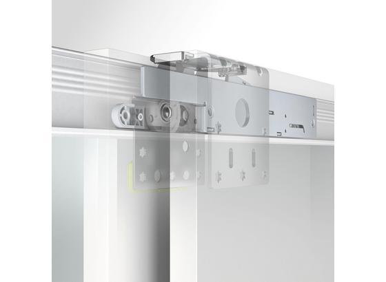 Türdämpfer Öffnungsdämpfer - Silberfarben, MODERN, Kunststoff (21/1,5/4,1cm)