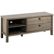 TV-Lowboard Brentwood B: 120 cm Dunkelbraun - Dunkelbraun, KONVENTIONELL, Holz/Metall (120/50/37cm) - MID.YOU