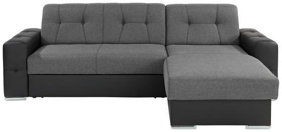Sedací Souprava Fulton - šedá/černá, Moderní (260/160cm)