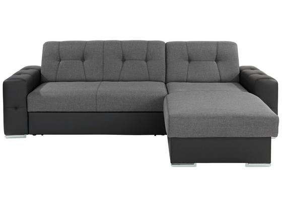 Wohnlandschaft fulton 260x160cm schwarz grau online kaufen for Wohnlandschaft grau schwarz