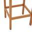 Balkonset Kalami 3-teilig Aus Eukalyptusholz - Naturfarben, MODERN, Holz (70/43/100/107/70/45cm) - Luca Bessoni