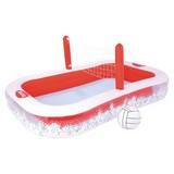 Spielpool Volleyball - Rot/Weiß, Kunststoff (253/168/97cm)