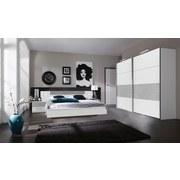 Schlafzimmer Angie - Hellgrau/Weiß, MODERN, Holzwerkstoff (518/208/210cm)