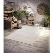 Hochflorteppich Roma, 60/90 - Weiß, MODERN, Textil (60/90cm)