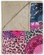 Kuscheldecke Allison - Sandfarben/Multicolor, Textil (130/160cm)