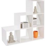 Raumteiler Pisa 5 - Weiß/Grau, MODERN, Holzwerkstoff (112/114/35cm)