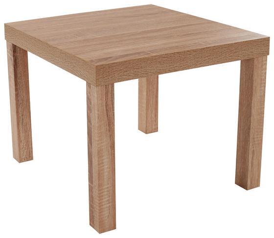 Konferenční Stolek Nora - Sonoma dub, Moderní, kompozitní dřevo (55/42/55cm)