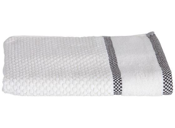 Handtuch Rocky - Weiß, ROMANTIK / LANDHAUS, Textil (50/100cm) - James Wood
