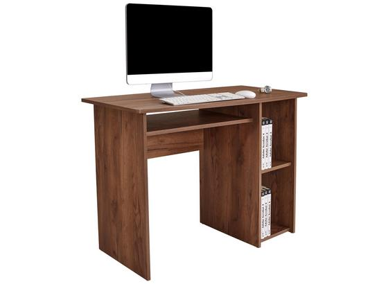 Psací Stůl Remus - tmavě hnědá, Moderní, kompozitní dřevo (110/74/50cm)