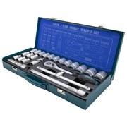 Werkzeugset 24-teilig Chrom-vanadium-stahl K24 - Türkis/Silberfarben, KONVENTIONELL, Metall (44/5/20cm) - Hyundai