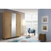 Skříň Falun - barvy dubu, Moderní, dřevěný materiál (137/203/53cm)