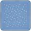 Duscheinlage Xenia - Blau/Anthrazit, KONVENTIONELL, Kunststoff (55/55cm) - Ombra