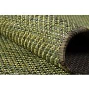 Flachwebeteppich Flatweave 80/150 - Gelb/Grün, MODERN, Textil (80/150cm)