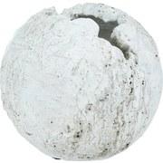Dekokugel Ø 15 cm - Weiß, MODERN, Keramik (15cm)