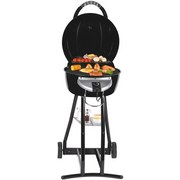 Barbecue BBQ Star 2 in 1 - Schwarz, MODERN, Metall (60/52,5/100cm)