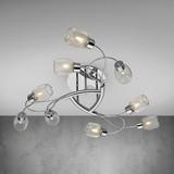 Stropná Lampa Caia - farby chrómu, Moderný, kov (77,5/17,5cm) - MÖMAX modern living