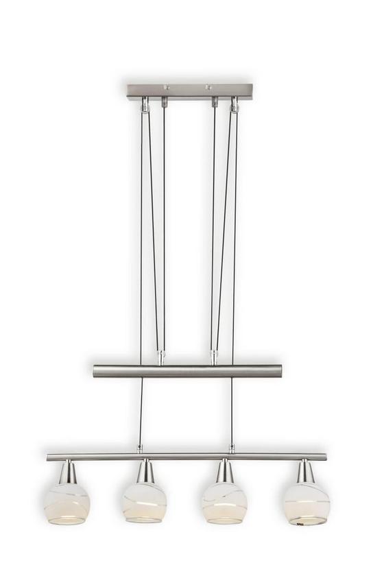 Hängeleuchte Olivia - KONVENTIONELL, Glas/Metall (60/160cm)