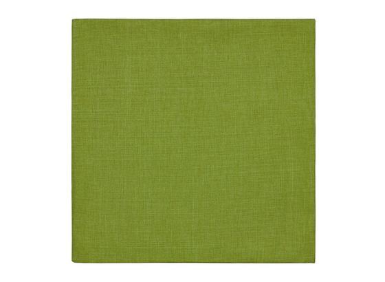 Poťah Na Vankúš Vzhľad Ľanu - zelená, Konvenčný, textil (50/50cm) - Mömax modern living