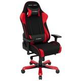 Gamingstuhl DX Racer King 11 Schwarz/Rot - Rot/Schwarz, MODERN, Kunststoff/Textil (80/131-141/80cm) - Dxracer