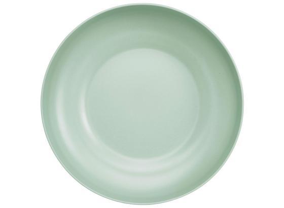 Mísa Anabel - Xl - mátově zelená, Natur, kompozitní dřevo/přírodní materiály (30,5/7,5cm) - Zandiara