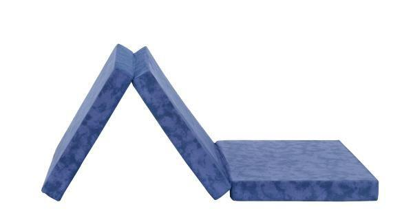Faltmatratze BILLY in Blau