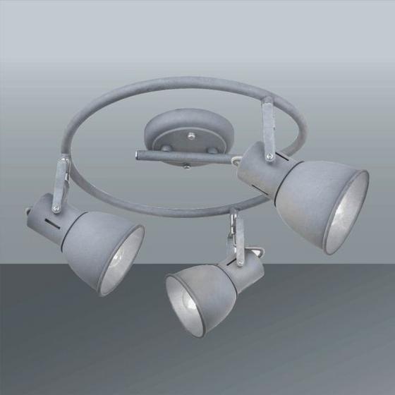 Svítidlo Bodové Matti - šedá, Lifestyle, kov (30/11cm) - MÖMAX modern living