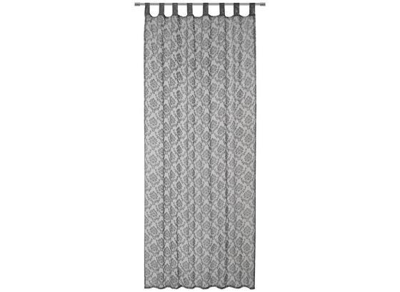 Záves S Pútkami Harry - sivá/biela, Konvenčný, textil (140/245cm) - Mömax modern living