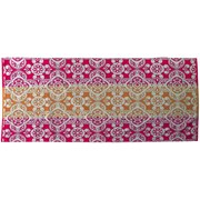 Strandtuch Leandra - Pink/Orange, MODERN, Textil (75/150cm) - Luca Bessoni
