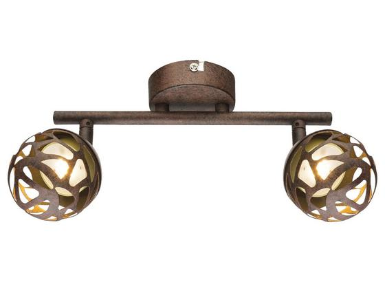 LED-Spotleuchte Esra - Rostfarben/Goldfarben, MODERN, Metall (25/16,5cm)