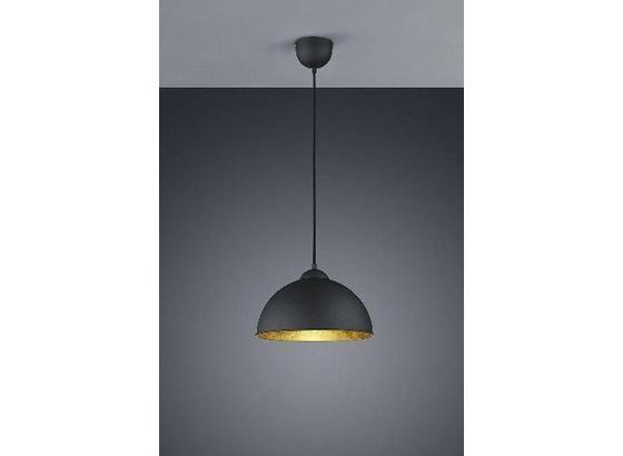 Závesná Lampa Jimmy - čierna/zlatá, Štýlový, kov (30/105cm) - Mömax modern living