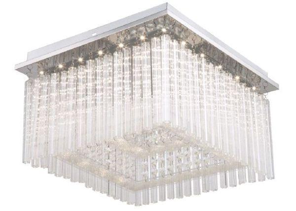 Led Stropná Lampa Azra - Moderný, umelá hmota/kov (36/36/21,5cm) - MÖMAX modern living