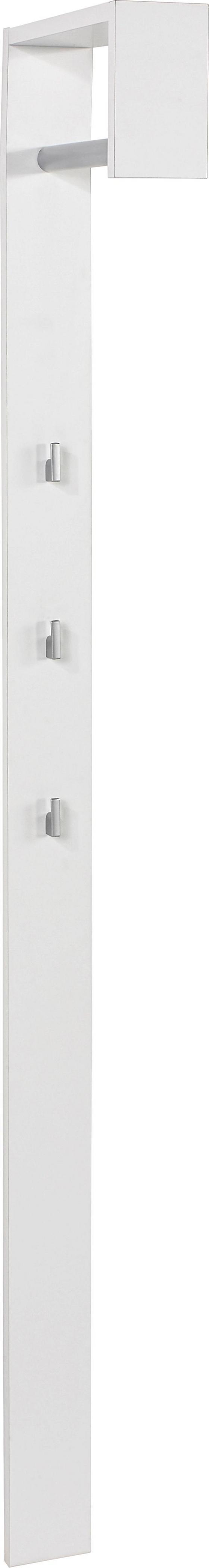 Előszoba Panel Senex - Fehér, modern, Fa (10/170/33cm)