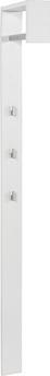 Garderobenpaneel Senex - Weiß, MODERN, Holz (10/170/33cm)