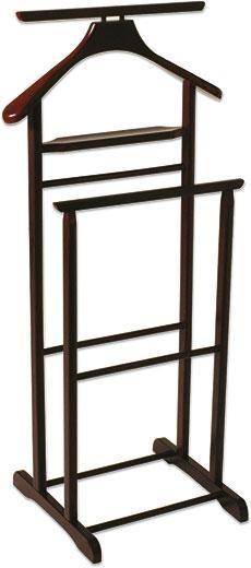 Pánský Sluha Funny - tmavě hnědá, Moderní, dřevo (47/102/36cm)