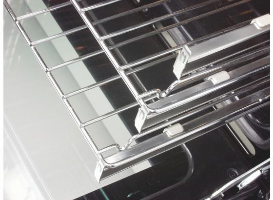 Backofenauszug Teleskopauszug - Edelstahlfarben, Metall (42 X 4,5cm) - Oranier